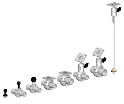 Product overview GPS mounts.